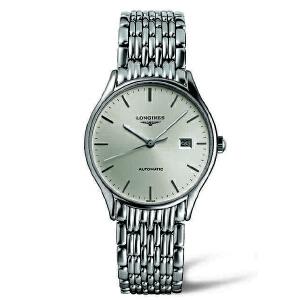 浪琴longines-律雅系列 L4.860.4.72.6 机械男士手表