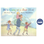 We're Going on a Bear Hunt 我们一起去猎熊 张湘君 廖彩杏书单 幼儿英语启蒙故事书 英国原版