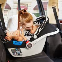 【当当自营】 英国zazababy 婴儿提篮式安全座椅0-1岁 斑马纹