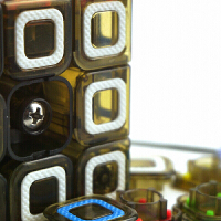 奇艺魔方格 次元三阶 魔方3阶 比赛专用魔方 益智玩具 CiYuan 394-8