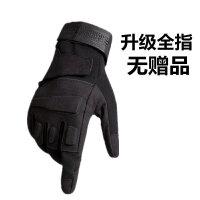 登山半指特种兵战术手套男士冬季户外骑行健身保暖绒全指半指手套