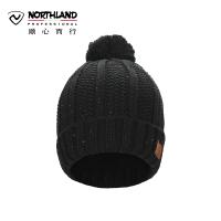 【超级品牌日 聚划算价折上9折】诺诗兰2017新品户外保暖舒适女式毛线套头帽 A062501