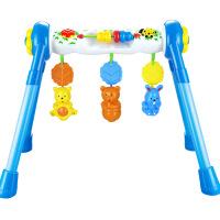 仙邦宝贝婴儿玩具多功能音乐宝宝健身架0-1岁健身器加厚防侧翻新