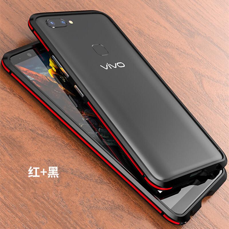 双色金属边框设计vivox20手机壳步步高x20plus潮男款 新品上新,多多惠顾