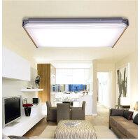 NVC 雷士照明 智控调光LED吸顶灯长方形客厅灯具现代简约90W大气灯饰