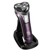 飞科(FLYCO)FS376智能电动剃须刀 全身水洗刮胡刀 USB充电系统,优雅充电底座
