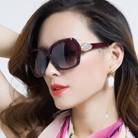 近视太阳镜女圆脸大框墨镜女潮个性眼镜复古长脸优雅眼睛