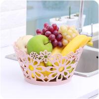 塑料客厅桌面零食水果收纳篮B880浴室化妆品收纳果蔬篮