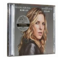 原�b正版 戴安娜・克��Diana Krall:壁花女郎Wallflower(CD)��d音��