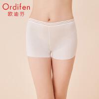 【2件3.5折到手价:90】欧迪芬 2020新款女士中腰三角裤性感蕾丝舒适无痕提臀内裤XP0207