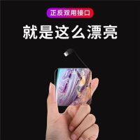 迷你大容量闪充自带线双面安卓苹果通用超薄充电宝手机小米oppo�O果魅族华为vivo磁吸小巧便携冲女生