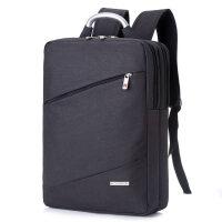 男士商务电脑双肩包15.6寸笔记本包14寸女士韩版休闲学生双肩背包