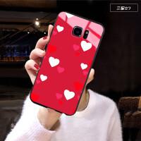 三星S7手机壳女款ins潮网红同款Galaxy S7个性创意三星G9300玻璃