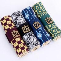 日韩学生卷帘笔袋男个性多功能卷笔袋简约帆布大容量复古文具袋