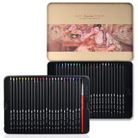 马可雷诺阿3220�\木杆彩色铅笔24色 36色 48色水溶彩铅 铁盒套装