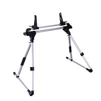 三星小米苹果平板电脑懒人通用支架床上架子床头竖支撑架桌面落地 折叠通用架子