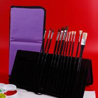 水粉笔套装油画笔水彩丙烯画画笔套装美术排笔手绘刷笔