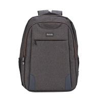 男生书包大学生高中生休闲时尚双肩电脑包背包休闲学生包学院风书包 17寸