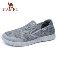 camel 骆驼男鞋轻盈缓震时尚休闲鞋时尚春夏户外透气健步运动鞋