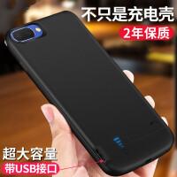 oppoA5背夹充电宝A3电池无线便捷式手机壳套移动电源闪充 OPPO A3【大容量】绅士黑