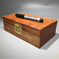 实木复古首饰盒印章玉器手串收藏发饰收纳盒子