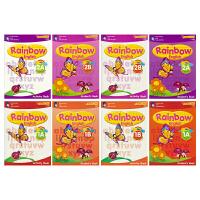 【首页抢券300-100】预售SAP Rainbow English K1K2 彩虹幼儿园英语 新加坡教辅小学英语新亚出