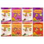 【首页抢券300-100】预售SAP Rainbow English K1K2 彩虹幼儿园英语 新加坡教辅小学英语新亚出版社 3-6岁 小班-大班 英文原版图书