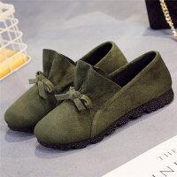 老北京布鞋女鞋单鞋黑色工作鞋42码大码小码34码鞋软底透气