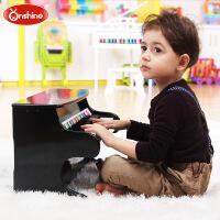 木质儿童钢琴乐器玩具钢琴25键仿真可弹奏婴幼儿早教玩具
