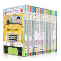 顺丰发货 Junie B. Jones Books in a Bus (Books 1-28) 朱尼・琼斯系列 少儿英文原版桥梁书 章节书小说