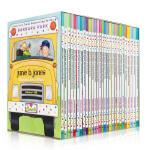 顺丰发货 Junie B. Jones Books in a Bus (Books 1-28) 朱尼・琼斯系列 少儿英