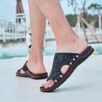 夏季品牌新款凉鞋镂空露趾拖鞋沙滩鞋防水防滑时尚休闲百搭