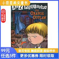进口英文原版The Orange Outlaw A to Z 神秘案件 #15 橙色的窃贼 6-12