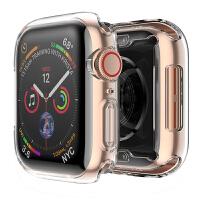 适用apple watch保护壳4代苹果手表iwatch3保护套软硅胶透明全包iphon
