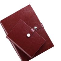 卡杰A6/A5/B5活页本皮面文具笔记本活页手帐商务办公记事本子定制