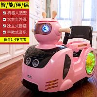 可坐小孩摇摆卡通婴幼儿宝宝玩具汽车儿童电动车遥控四轮室内童车