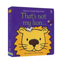Usborne That's Not My Lion 那不是我的狮子 英文原版图书 儿童英语触摸书纸板书