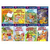 (100减20)Arthur's 亚瑟小子系列 英文原版 马克.布朗 Marc Brown 8册 Step into
