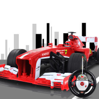 1:12F1方程式赛车仿真遥控车带重力感应方向盘遥控器包电