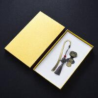 复古典中国风青铜流苏书签8gu盘套装 金属创意圣诞节礼物 公司会议年会商务纪念礼品定制logo刻字送老师学生