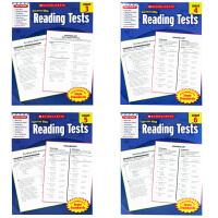 英文原版 Scholastic Success With Reading Tests3-6学乐英语阅读测试4册合售 英
