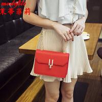 茉蒂菲莉 斜挎包 女士新款斜挎包时尚小包满额减女式韩版手机小方包迷你链条单肩包