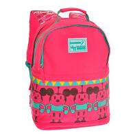 迪士尼/Disney BM0602B/红色 小学生书包男女1-3-4年级米奇减负双肩背包儿童8-10-12岁新年开学礼