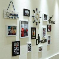 御目 照片墙 挂墙相框7寸5寸相框创意相架组合相片墙客厅卧室照片墙画框像框墙贴