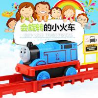 托马斯火车轨道套装电动玩具男女孩益智仿真小火车动儿童赛车礼物