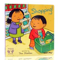 英文原版绘本Helping Hands Shopping 好帮手系列 购物 吴敏兰书单 child's play