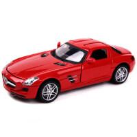 美致MZ 合金车模型仿真奔驰SLS 儿童回力玩具小汽车模型玩具礼物