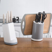 厨房砧板架 简约多功能厨房刀具收纳架菜刀架刀座架菜板