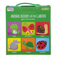 中图:4CUBES&BOOK.ANIMALFRIENDSINTHEGARDEN