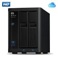 WD西部数据 My Cloud PR2100西数云NAS网络存储 3.5英寸0T/4T/8T/12T/16T可选 网络